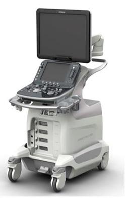 写真:デジタル超音波診断装置