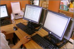 写真:透析情報管理システム