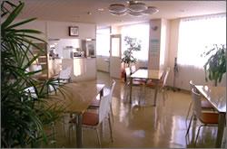 写真:食堂・談話室